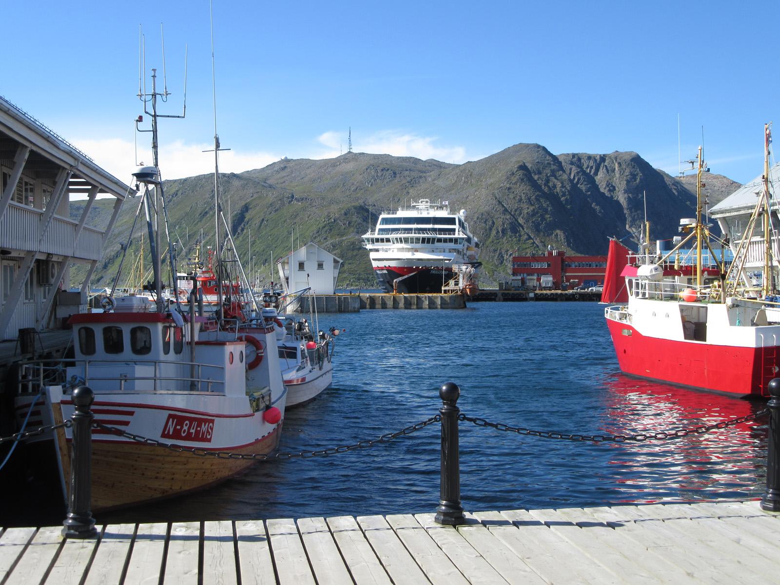 Hafen Honningsvag