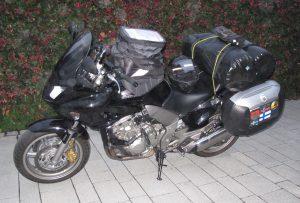 Die zweite unserer Maschinen: Honda CBF 1000