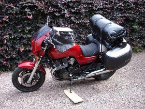 Die erste unserer Maschinen: Mine Honda SevenFifty